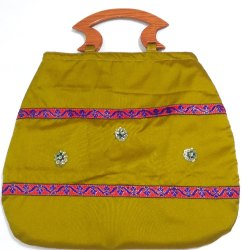 Silk Fancy Handled Return Gift Bag