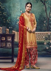Summer Special Cotton Patiala Suits