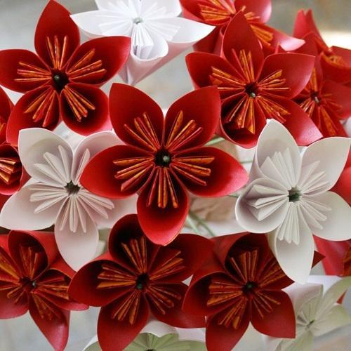 Handmade paper flowers at rs 500 piece kagaz ke phool ama handmade paper flowers mightylinksfo