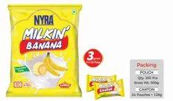 NYRA Milkin Banana, Quantity Per Pack: 160 Pc