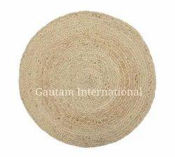 Natural Jute Braided Round Rugs