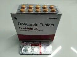 Dothiepin HCL Tablets 25mg