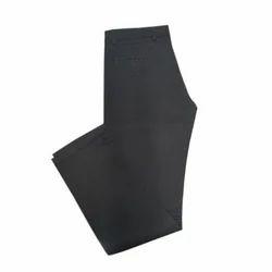 Mens Cotton Plain Trouser, Size: 28 to 36