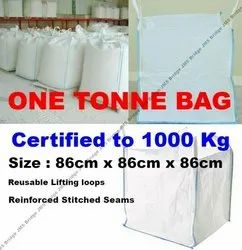 One Tonne Bags FIBC Bulk Jumbo Builder/'s Garden Bags Rubble Sack Brand New
