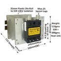 200 AMP RANDOM DC TO AC SOLID STATE RELAY