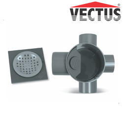 UPVC Vectus SWR Multi Floor Trap Square Jali | ID: 17652040048