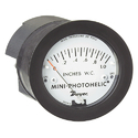 Mini Photohelic Differential Pressure Switch Gauge
