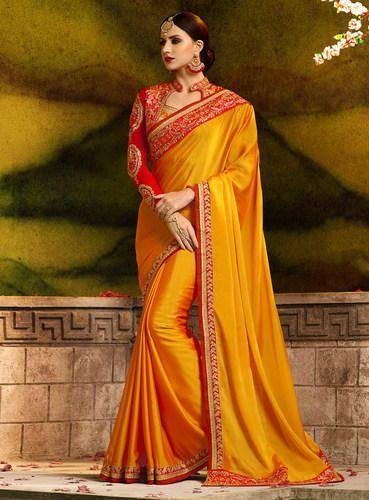 9a31cdca8f96cf Women' s Designer Rangoli Silk Saree with Blouse Piece, Saree Length: 6.3 m