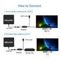 Wellcon 75miles HDTV Indoor Antenna