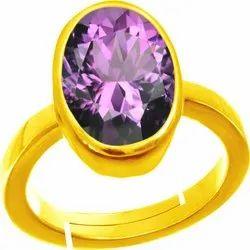 Amethyst Ring Panchdhatu Gemstone