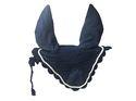 Horse Crochet Breathable Cotton Ear Net/ Hood Fly Veil Mask