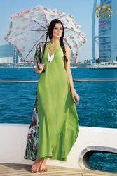 Neeru's 1 Pc Dress With Key Hole Neck Line