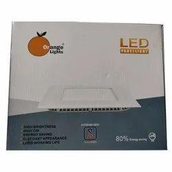 Orange Lights Ceramic LED Panel Light, For Indoor, IP Rating: IP33