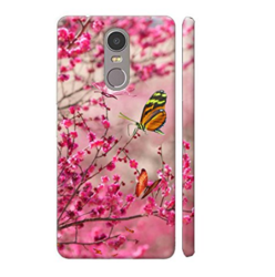 Mobile Printed Pink Cover