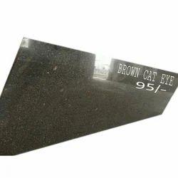 RR Granites Cat Eye Brown Granite Slab