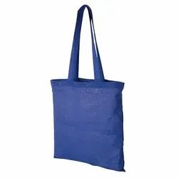 Colored Plain Cotton Shopping Bag