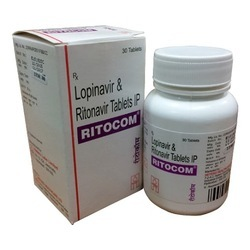 Ritocom Lopinavir And Ritonavir Tablets