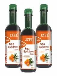 JZEL Boost Energy Sea Buckthorn Juice And Capsules, For Genral, Treatment: Immunity Boster