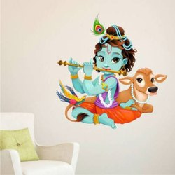 PVC Vinyl Wall Stickers, For Living Room, Size/Dimension: 24 Inch By 24 Inch
