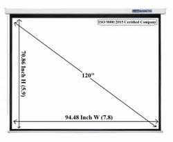 Screen Technics Pro Premium 6x8 Motorised Projector Screen