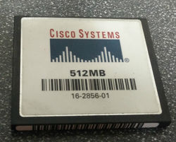 Cisco Compact Flash Card
