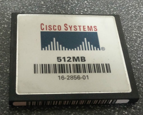 Cisco Compact Flash Card, Memory Size: 512 MB | ID: 17228707362