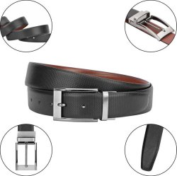 Italian Reversible Leather Belts