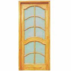 Wooden Mesh Door