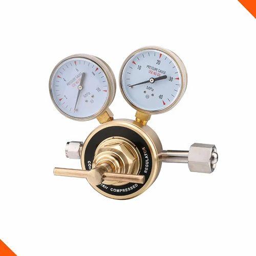 Industrial Regulators - Helium Gas Pressure Regulator