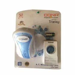 Cona Plastic AC Wireless Remote Door Bell for Doors