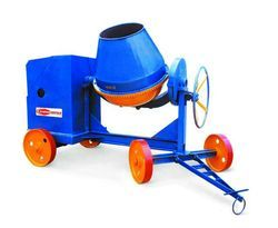 Wheel Type Concrete Mixer
