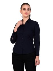 Zx3 Full Ladies Formal Casual Cotton Shirt