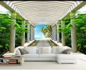 Orson Media Plain Surface Living Room Wallpaper, 3d Effects, 4feet