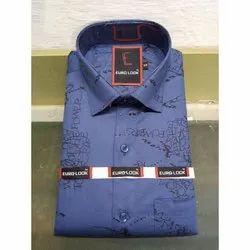 Euro Look Cotton Mens Stylish Shirt