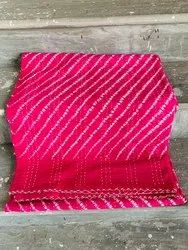 Pink Cotton Kantha Bed Covers