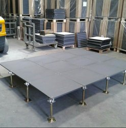 Uni Tiles Raised Flooring For Indoor, Thickness: 33mm