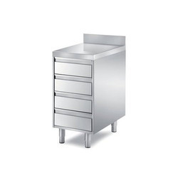 4 Drawer SS Counter