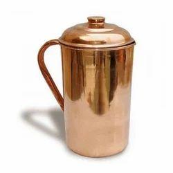 Brown Copper Jug, Size: Various