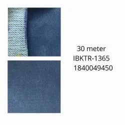 Plain Blue Denim Fabric, For Jeans, Packaging Type: Roll