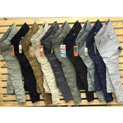 Mens Crushed Jeans