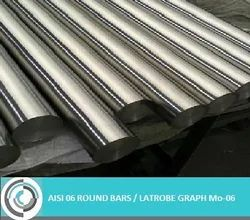 AISI O6 Tool Steel Round Bars & Rods
