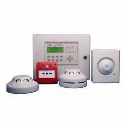White Fire Alarm System