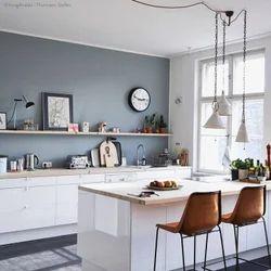 White Colour Kitchen