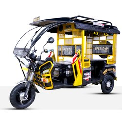 Speego DLX Battery Operated Rickshaw, Seating Capacity: 4+1+(40 Kg Luggage)