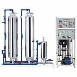 Stainless Steel 1000 LPH Industrial Reverse Osmosis Plant, RO Capacity: 1000LPH, Automation Grade: Semi-Automatic