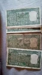 5 Rupees Old Notes