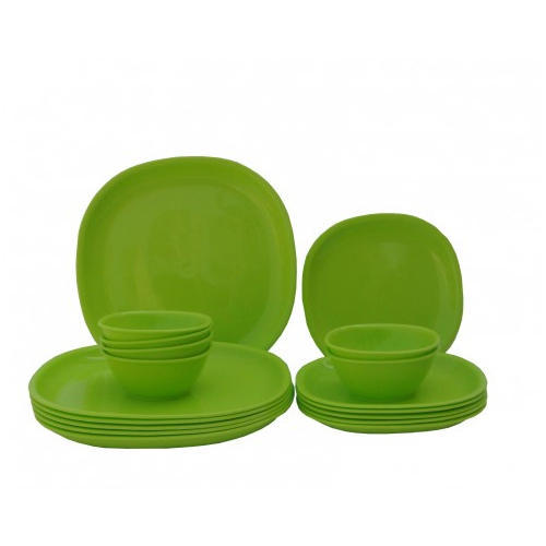 lime green square dinner set at rs 1083 set sector 57 noida