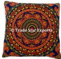 Indian Cotton Floral Euro Sham Pillow Sham Cover