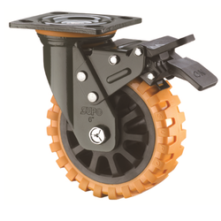 Skidproof Double Ball Bearing Wheels