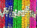 Colorful Pom Pom Mirror Beads Decoration Garlands
